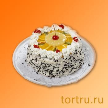 """Торт """"Фруктовый рай"""", Пятигорский хлебокомбинат"""