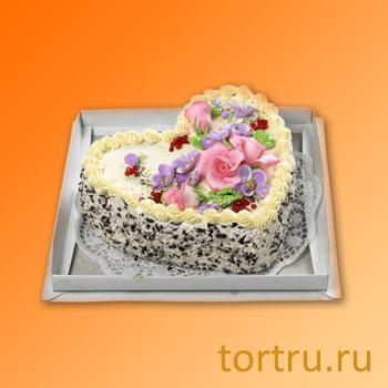 """Торт """"Подарочный фигурный"""", Пятигорский хлебокомбинат"""