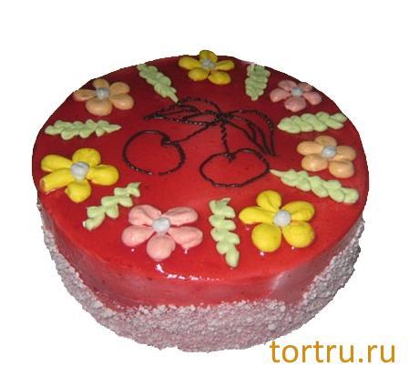 """Торт """"Вишня"""", ТВА, кондитерская фабрика, Москва"""