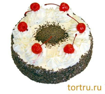 "Торт ""Зимняя вишня"", Кузбассхлеб"
