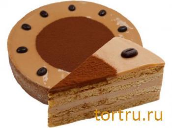 """Торт """"Кофейно-сливочный"""", Кондитерский дом Александра Селезнева"""