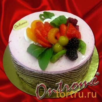 "Торт ""Онтроме Вишня"", Онтроме, кафе-кондитерская, Санкт-Петербург"