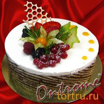 """Торт """"Йогуртовый"""", Онтроме, кафе-кондитерская, Санкт-Петербург"""