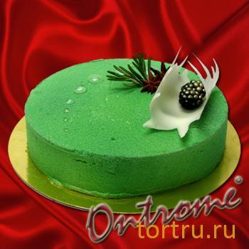 """Торт """"Фисташковый"""", Онтроме, кафе-кондитерская, Санкт-Петербург"""