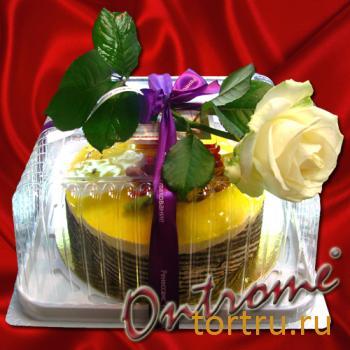 """Торт """"Подарок"""", Онтроме, кафе-кондитерская, Санкт-Петербург"""