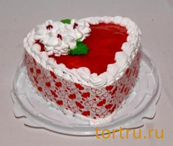 """Торт """"Для любимых"""", кофейня-кондитерская Эксклюзив, Орехово-Зуево"""