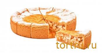 """Пирог """"Британский яблочный"""", Кристоф, кондитерская фабрика десертов, Санкт-Петербург"""