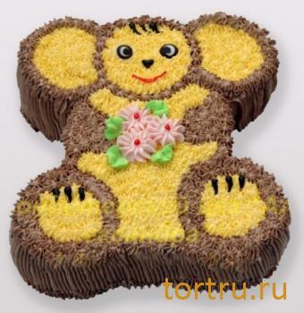 "Детский торт ""Чебурашка"", Кондитерский цех Александра, Солнечногорск"