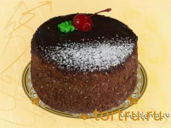 """Торт """"Зимняя вишня (мини)"""", кондитерский цех Лакомка, Рязань"""
