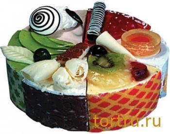 """Торт """"Ассорти-люкс"""", кондитерская компания Господарь, Балашиха"""