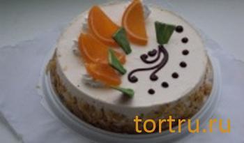 """Торт """"Апельсиновый рай"""", Ахтырский хлебозавод"""