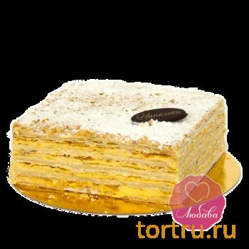 """Торт """"Наполеон"""", Любава, кондитерская фабрика, Москва"""