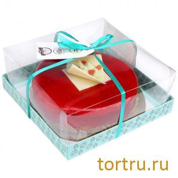 """Торт """"Клубничный Изумруд"""", мастерская десертов Бисквит, Москва"""