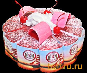 """Торт """"Алые паруса"""", кондитерское производство Метрополь, Санкт-Петербург"""
