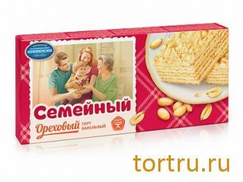 """Торт вафельный """"Семейный"""" Ореховый, Коломенское"""