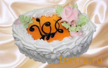 "Торт ""Йогуртовый Абрикос"", Кондитерский комбинат Ходынка, Sweet Bakery"