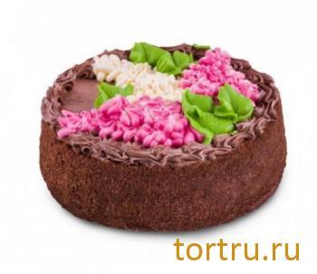 """Торт """"Букет сирени"""", Хлебокомбинат Кольчугинский"""