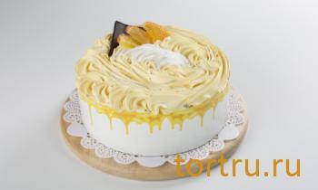 "Торт ""Бисквитно-фруктовый ананас"", Арт-Торт, Москва"