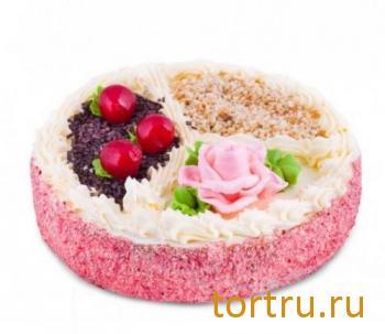 """Торт """"Трио"""", Хлебокомбинат Кольчугинский"""