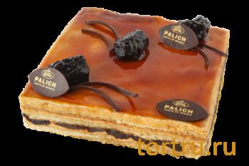 """Торт """"Кэроланс с цветочным мёдом и черносливом"""", У Палыча"""