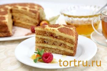 """Торт """"Медовый"""", комбинат Добрынинский, Москва"""