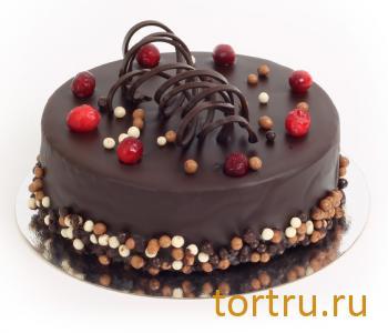 """Торт """"Клюква в шоколаде"""", Московский Пекарь"""