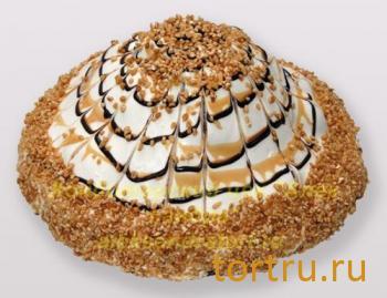 """Торт """"Сметанный с карамелью"""", Кондитерский цех Александра, Солнечногорск"""