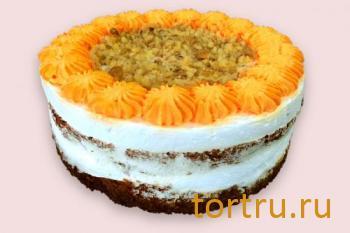 """Торт """"Любовь-Морковь"""", кондитерская Чайка, Калуга"""