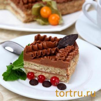 """Торт """"Ленинградский"""", комбинат Добрынинский, Москва"""