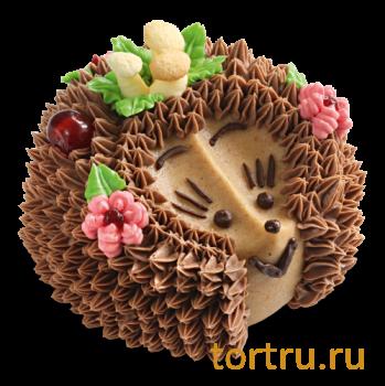 """Торт """"Лесной гость"""", Венский Цех фабрики Большевик, Москва"""