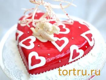 """Торт """"Сердце"""", Бахетле"""