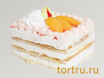 "Торт ""Персик"", Кондитерский цех Каньон, Белгород"