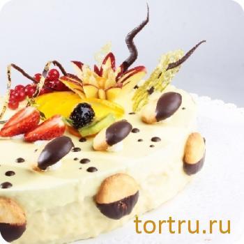 """Торт """"Фисташковый вкус"""", Бахетле"""