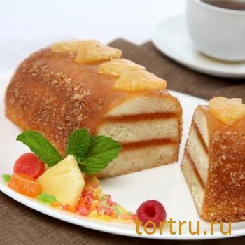 """Торт """"Полина с фруктами"""", комбинат Добрынинский, Москва"""