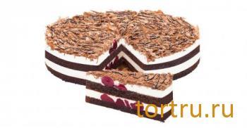"""Торт """"Черный лес"""", Кристоф, кондитерская фабрика десертов, Санкт-Петербург"""