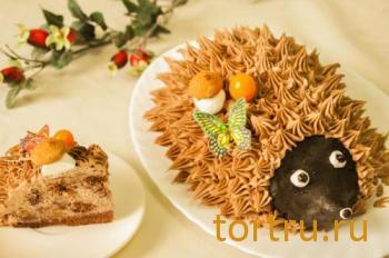 """Торт """"Ежик"""", На блюдечке, Зеленоград"""