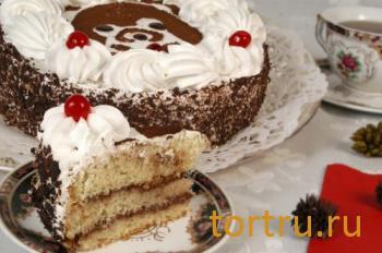 "Торт ""Мишутка"", На блюдечке, Зеленоград"