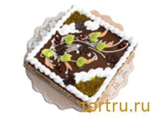"""Торт """"Осенний"""" комбинат кондитерских изделий Птичье молоко, Москва"""