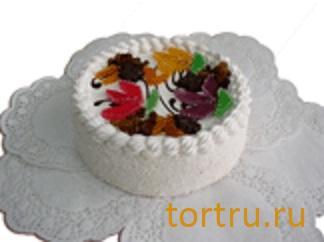 "Торт ""Птичье молоко с сухофруктами"" комбинат кондитерских изделий Птичье молоко, Москва"
