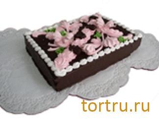 """Торт """"Птичье молоко с черной смородиной"""" комбинат кондитерских изделий Птичье молоко, Москва"""