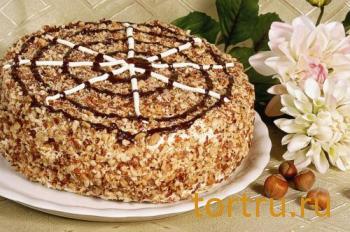 "Торт ""Паутинка"", На блюдечке, Зеленоград"