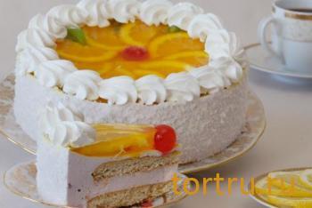 """Торт """"Суфле с фруктами"""", На блюдечке, Зеленоград"""