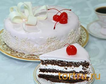 """Торт """"Вишневый вальс"""", На блюдечке, Зеленоград"""