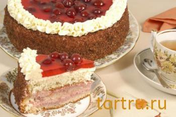 "Торт ""Вишенка"", На блюдечке, Зеленоград"