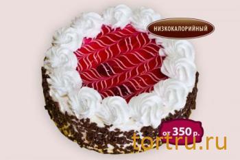 """Торт """"Вишневый аромат"""", кондитерская Чайка, Калуга"""
