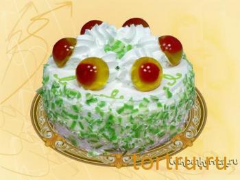 "Торт ""Вишня в желе"", кондитерский цех Лакомка, Рязань"