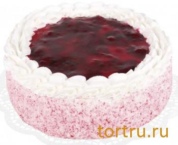 "Торт ""Йогурт с вишней"", кондитерская фирма Зодиак, Москва"