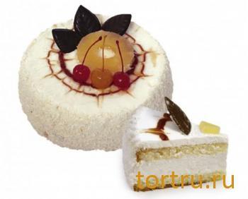 """Торт """"Йогуртовый"""", Хлебозавод Восход Новосибирск"""