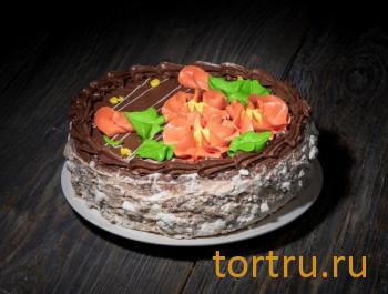 """Торт """"Киевский"""", сеть кондитерских магазинов Бисквит, Смоленск"""