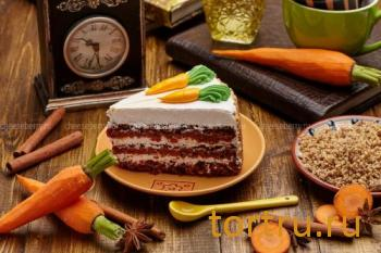 "Торт ""Морковный"", Cheeseberry"